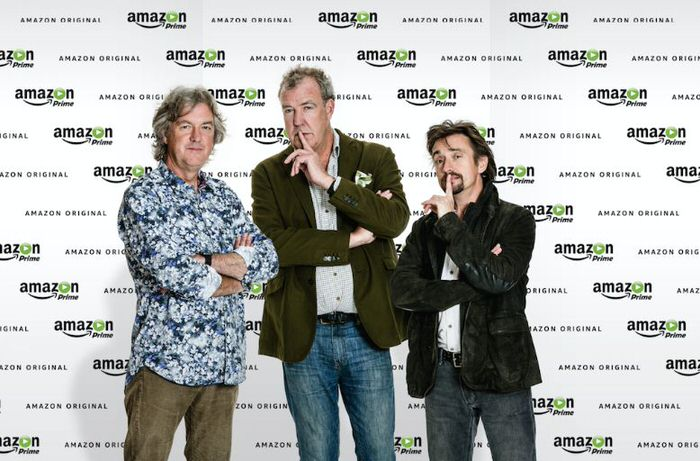 James May, Jeremy Clarkson und Richard Hammond